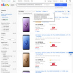 [eBay Plus] Samsung Galaxy S9 $539 / S9+ $648 / Note 8 $598 / Note 9 512GB $799 + Delivery @ Allphones eBay