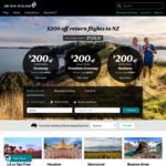 Air New Zealand 5% Discount (Premium Economy & Business)