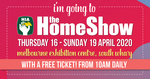 [VIC] Free General Admission Tickets - HIA Home Show Melbourne
