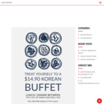 [VIC] Customer Appreciation Special - $14.90 (Lunch/Dinner) @ Miss Korea Kitchen 288 (Nunawading)