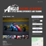 [VIC] 5 Laps of The Ultimate Driving Experience 28 March 2020 $228.51 (25% off, Was $303.26) @ Anglo Racing Academy, Wodonga