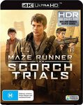 Maze Runner Scorch Trials 4K UHD $9.74 + Delivery ($0 with Prime/$39 Spend) @ Amazon AU