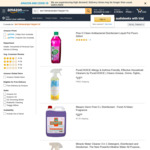 Pine O Cleen Antibacterial Disinfectant Liquid Lemon / Pot Pourri 500ml $2.50 + Delivery ($0 with Prime/ $39 Spend) @ Amazon AU