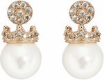 Sweet Duchess Crystal & Mother of Pearl Earrings $49 (Save $69) + $10 Delivery ($0 with Order over $100) @ Pica Léla