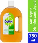 Dettol Classic Antibacterial Disinfectant Liquid, 750ml $9.99 + Delivery ($0 with Prime/ $39 Spend) @ Amazon AU