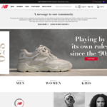20% off Selected Full Priced Products @ New Balance