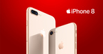 iPhone 8 Plus 64GB $640 @ Vodafone