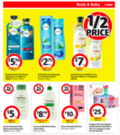 1/2 Price Aveeno (40% Off Baby), Essano Hair and Skin Care, Herbal Essences, Nivea Men Skin Care & Body, Sukin Hair Care @ Coles
