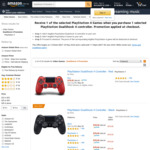 [PS4] DualShock 4 with Free Game (Spide, Predator, Astro Boy VR, Concrete Genie, Detroit Become Human) $78 Delivered @ Amazon AU