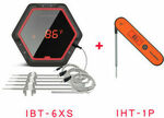 $99 Delivered for Inkbird BBQ Thermometer IBT-6XS Rechargeable (6 Probes) +Instant Read Pen IHT-1P @eBay Inkbird