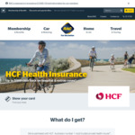 [WA] up to $400 Cash Back on HCF Hospital & Extras Cover as RAC Member
