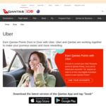 Earn 2000+ Qantas Points, Plus 1 Per $1 for New Uber Signups (if You Link with Qantas Account)