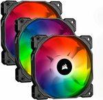 Corsair Icue SP120 RGB PRO, 120mm, RGB LED Cooling Fan (Triple Pack) $74.73 + Delivery ($0 with Prime) @ Amazon UK via AU