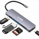 U-Hub USB C Hub 6 in 1 $27.74 (Was $36.99) + Delivery ($0 with Prime/ $39 Spend) @ U-ROK Amazon AU
