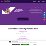 Learntinue - Family Learning Platform - Now Free for 30 Days Trial (Normally 7 Days)