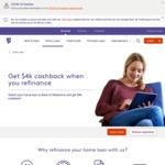 $4,000 Cashback on Refinancing Home Loan @ Bank of Melbourne