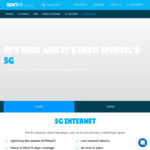 5G Broadband Unlimited Data 24 Months $70/Month, $10 off First 6 Months @ Spintel