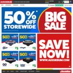 50% off RRP Storewide @ aussieBum