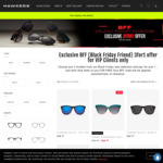 Buy 1 Get 2 Free Sunglasses (Prices Start from $24.99) @ Hawkers Australia