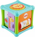 Fisher-Price Growing Baby Animal Activity Cube (6-36 months) $6 (RRP $10) + Delivery ($0 with Prime / $39 Spend) @ Amazon AU