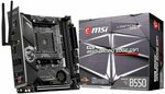 MSI MPG B550I Gaming Edge WiFi ITX Motherboard for AMD AM4 CPUs $286.05 + Delivery (Free with Prime) @ Amazon UK via AU