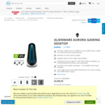 Alienware Aurora R11 Gaming Desktop i9 10900F 32GB RAM 512GB SSD RTX 3080 $3,626.06 Delivered @ Dell AU
