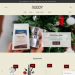 25% off Coffee (Including Tasting Packs) + Delivery/Free with $35 Spend @ NUDDY Coffee