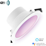 RGBW Smart Wi-Fi Downlight 9W 90mm Cutout $23.09 Delivered @ Lectory