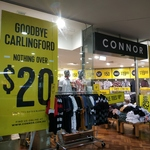 [NSW] Connor Closing Sale E.g. 3 Business Shirts for $50 in Store @ Connor (Carlingford)