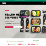 20% off Meals with $99 Minimum Spend Delivered @ My Muscle Chef