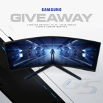 "Win a Samsung Odyssey G5 34"" 165Hz Curved Gaming Monitor Worth $849 from Mwave"