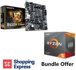 AMD Ryzen 5 3600 6 Cores 4.2GHz CPU & Gigabyte B450M-H mATX Motherboard Combo $299 + Delivery @ Shopping Express