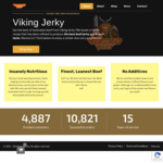 30% off All 200g Bags $19.60 + $8 Shipping @ Viking Jerky