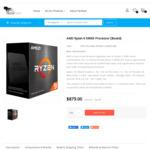 AMD Ryzen 9 5900X $874, AMD Ryzen 9 5950X $1239 + Delivery @ TechFast
