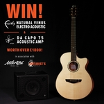 Win a Faith Natural Venus Electro/Acoustic Guitar & Udo Roesner Da Capo 75 Acoustic Amp worth over $3,200 from Faith Guitars