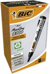 BIC 2300 Perm Markers Med. Chisel Black, 12 $8.50 ($7.65 with Sub & Save) + Delivery ($0 with Prime/ $39 Spend) @ Amazon