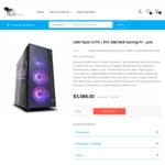 R5-5600X RTX 3080 Gaming PC w B550M Aorus Elite MB, 500GB NVME SSD, 16GB RAM, 850W PSU $2888 + Post @ TechFast [Jun/Jul Ship]