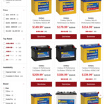 Century Ultra Hi Performance Car Battery NS60LSXMF $179.99 (Was $239.99) and NS70LX MF $209.99 (Was $279.99) @ Supercheap Auto
