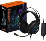 Gigabyte AORUS H1 Virtual 7.1 Channel Gaming Headset $45 Delivered @ Titan Tech via Amazon AU