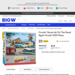 Cruisin' Route 66 On The Road Again Puzzle 1000 Piece $5 (Was $25) + Delivery ($0 C&C) @ Big W