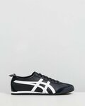 Onitsuka Tiger Mexico 66 Black and White $120 ($100 with Newsletter) Delivered @ The Iconic