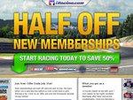 50% off New iRacing Memberships