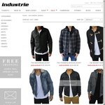 Industrie Jackets $59.95 + Shipping, or Free Shipping over $100 Spent