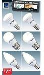 LED Light Globes $7.99ea - Screw, Bayonet, GU10, MR16 @ ALDI This Saturday