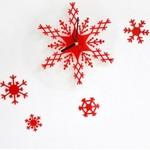 Snowflake Shaped Wall Clock for $7.99 USD + Free Shipping