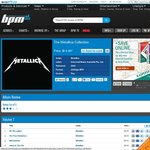 The Metallica Collection - 15 Albums for $14.95 (Bigpond Music 320k MP3 Download)