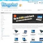 Up to $100 Cash Back on Best Selling Ultrabooks Flingshot.com.au