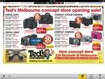Canon 1100D 18-55mm Kit, Nikon D3000 18-55mm Kit $299.95 Each @ Ted's Melbourne Concept Store