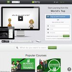 Udemy - 65% off (Almost) Any Course