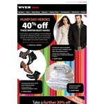 Myer 30% off Reduced to Clear Items (Online Only)